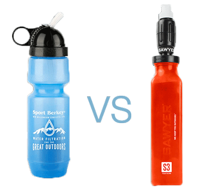 Berkey vs Sawyer water filters