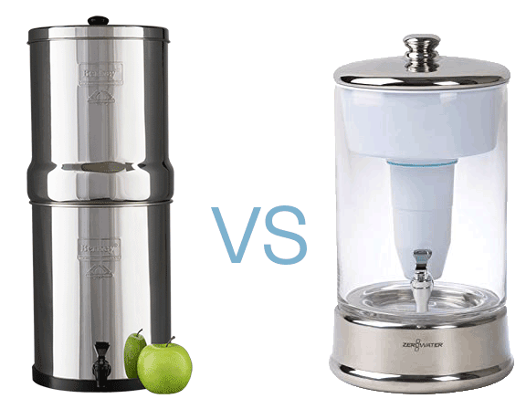 Berkey vs Zerowater filters