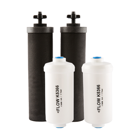 Black and Fluoride Filters