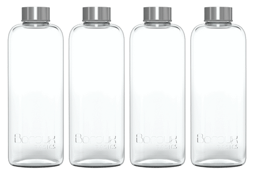Boroux Basics Glass Water Bottles