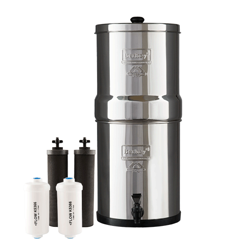 Big Berkey with Fluoride Filter set
