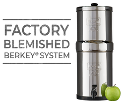 Berkey Water Filter Scratch and Dent Sale