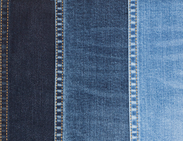 A preview of some of the washes for the new Bluffworks Denim.