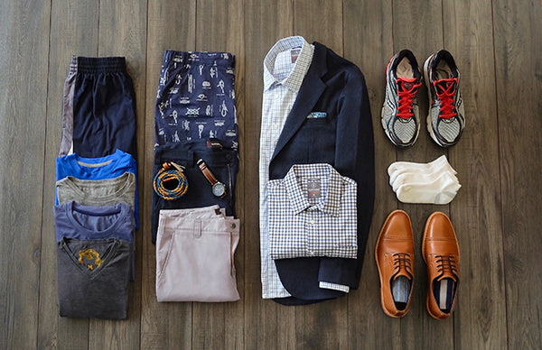 Business capsule wardrobe.