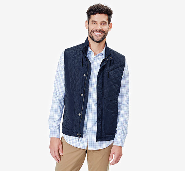 The Horizon Quilted Vest.