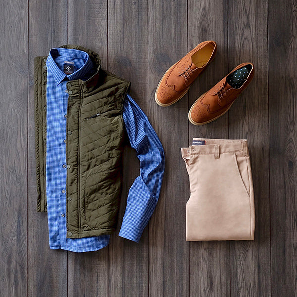 The men's capsule wardrobe for the casual family get-together