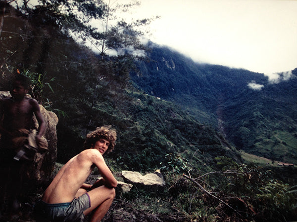 In the Irian Jaya jungle when I was 20 years old.