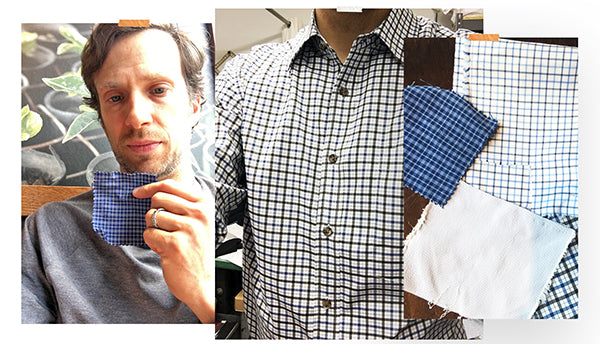 We went through many fabric options to find a better non iron shirt.