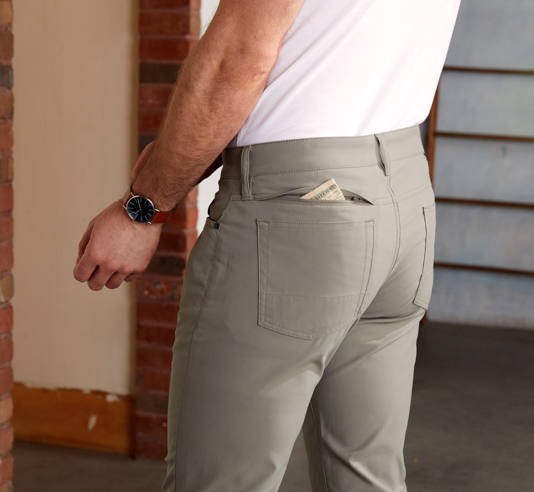 Ascender 5-Pocket Pants Regular Fit - Desert Sage