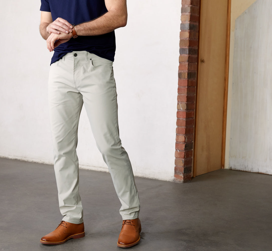 Ascender 5-Pocket Pants Regular Fit - Light Clay