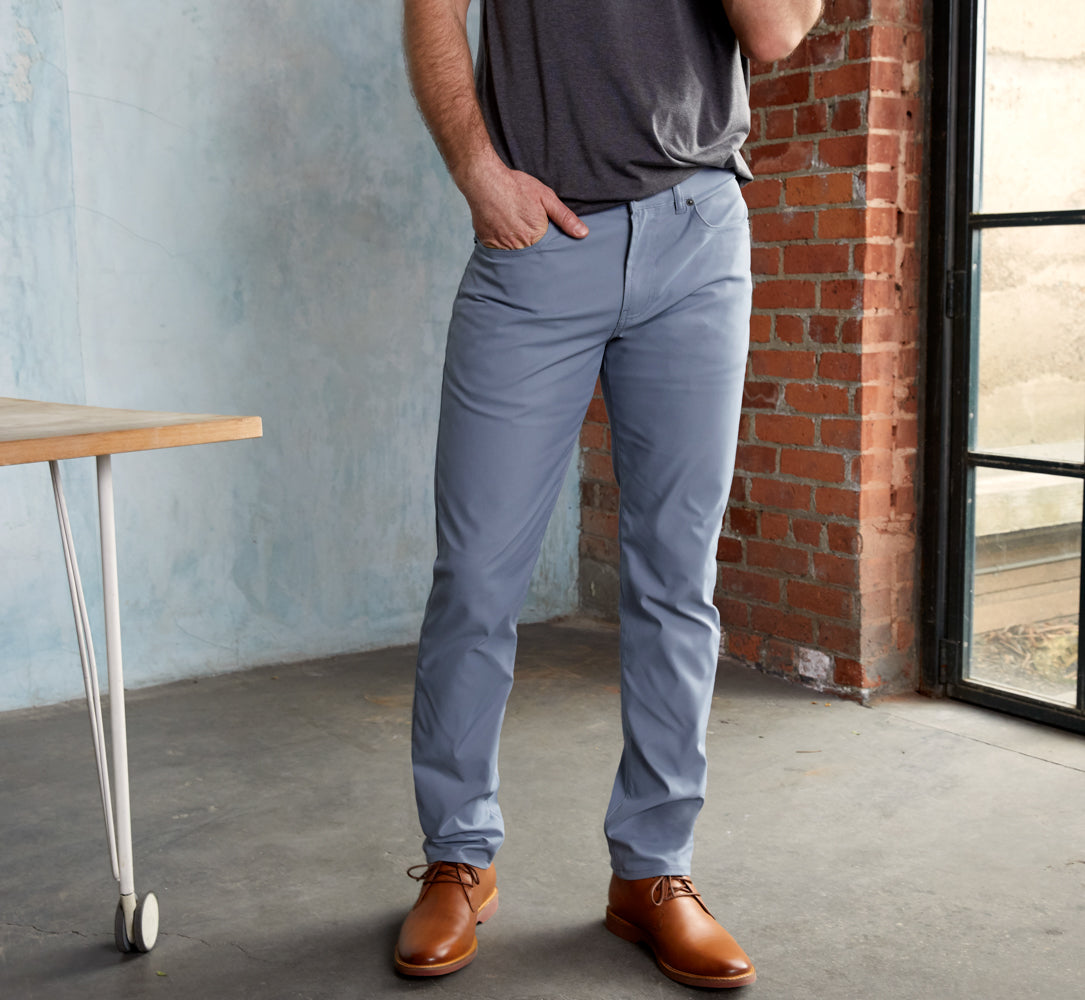 Ascender 5-Pocket Pants Slim Fit - Slate Blue