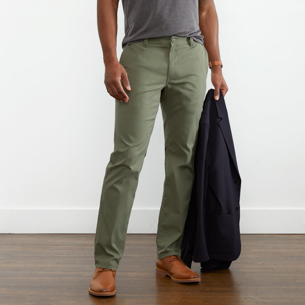 Ascender Chino Regular Fit - Boulevard Green