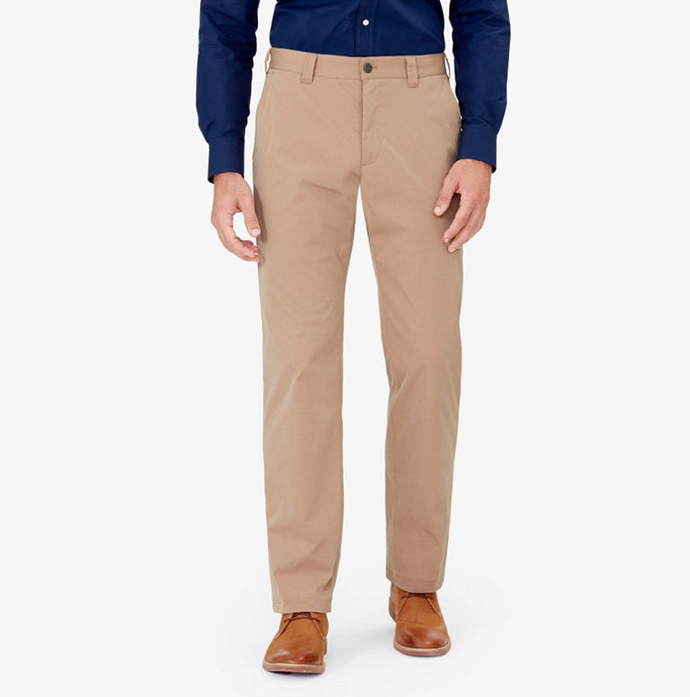 Bluffworks Chino Travel Pants in Khaki