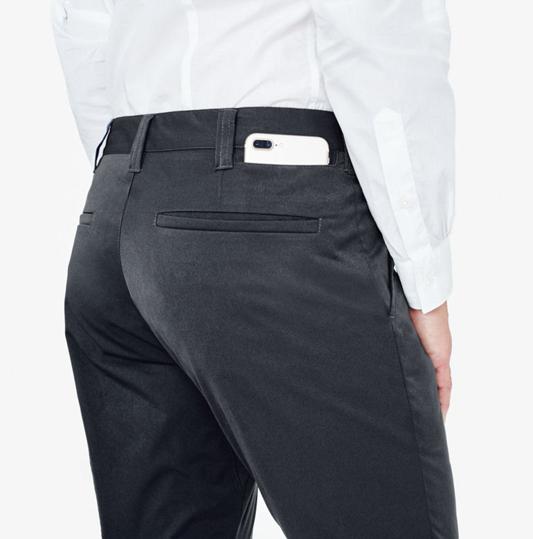 Classic Chino Tailored Fit - Charcoal