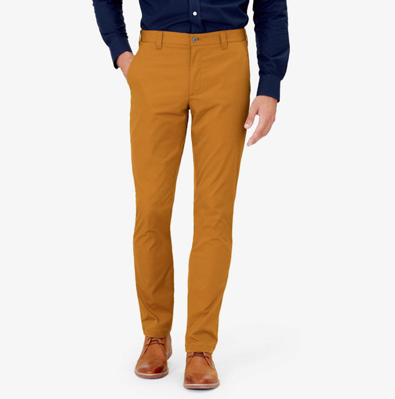 Classic Chino Tailored Fit - Harvest Gold