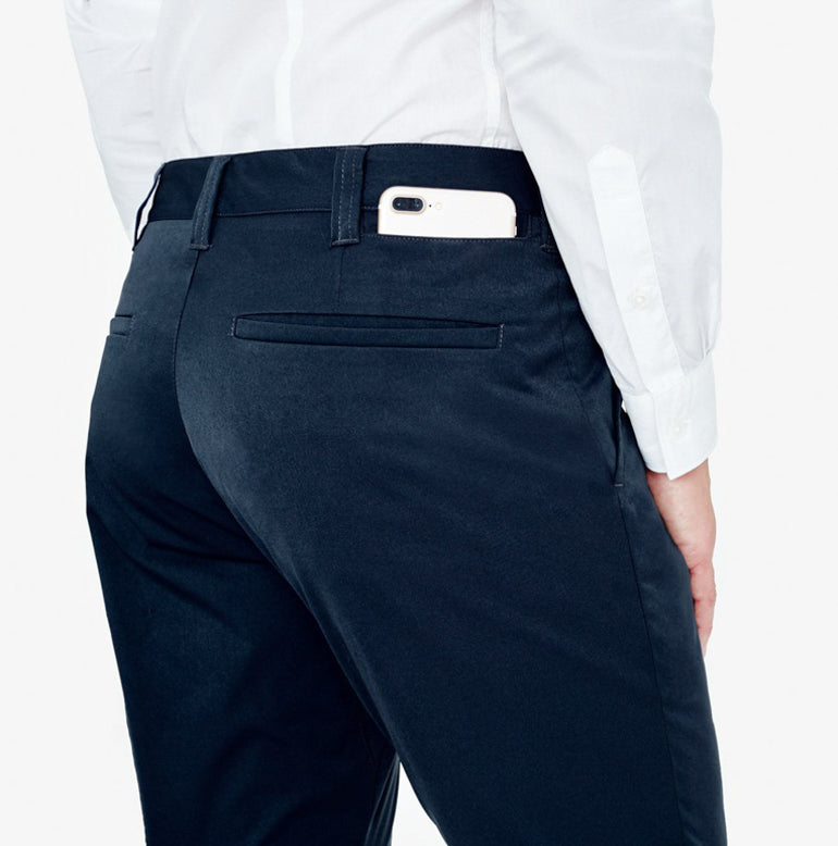 Classic Chino Tailored Fit - Navy Blue