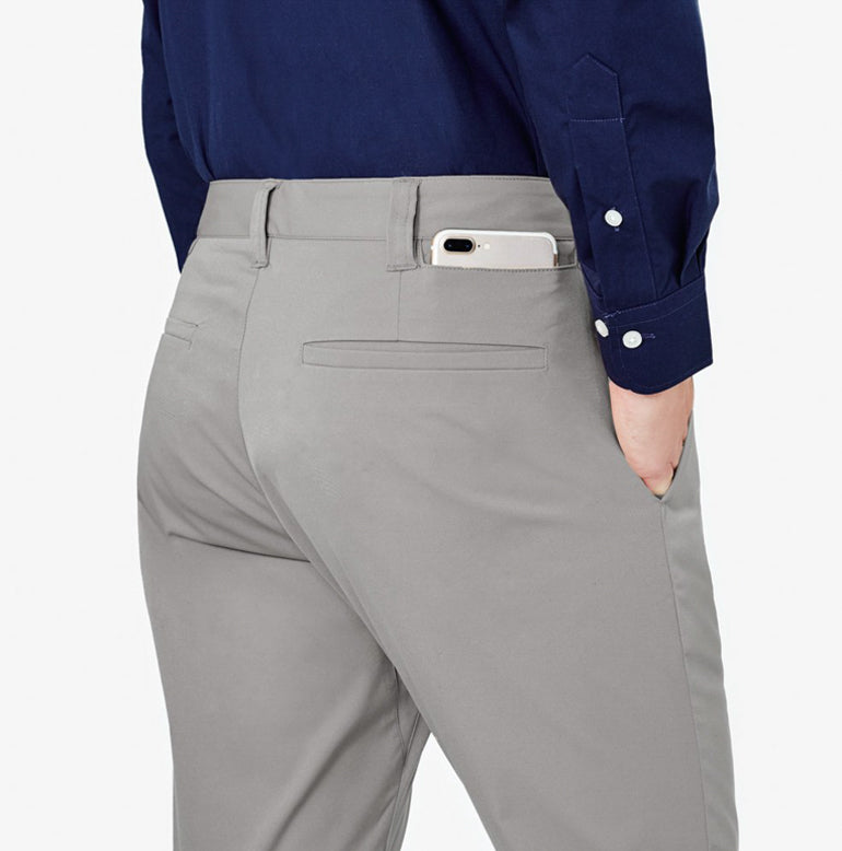 Classic Chino Tailored Fit - Stone