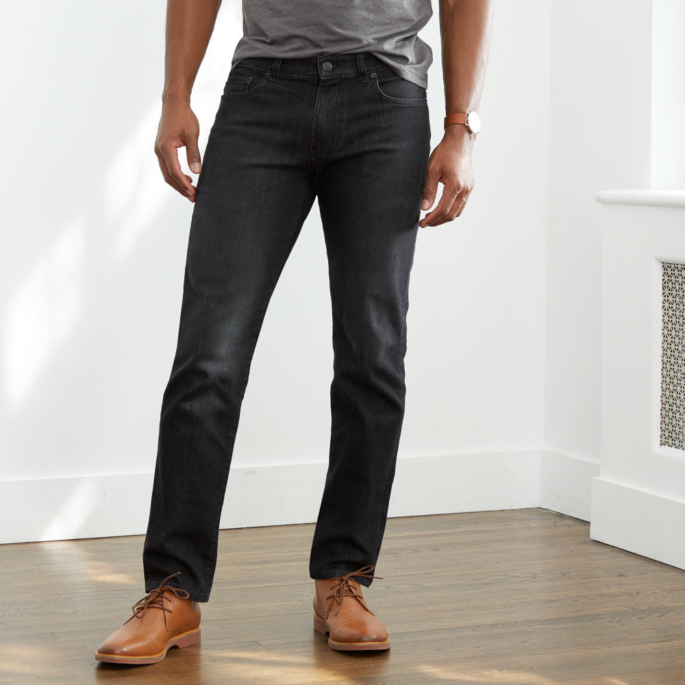 Departure Jeans 2.0 Regular Fit - Black Dark Wash