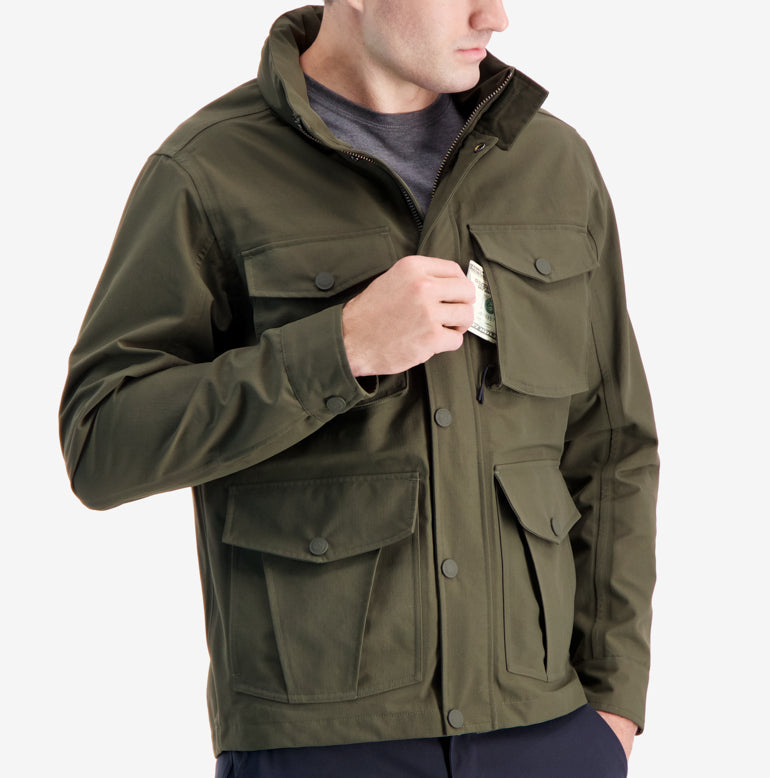 Field Jacket - Olive Green