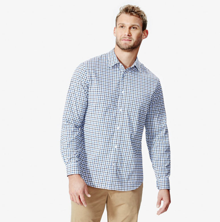 Meridian Dress Shirt 2.0 Classic Fit - Highland Grey Check