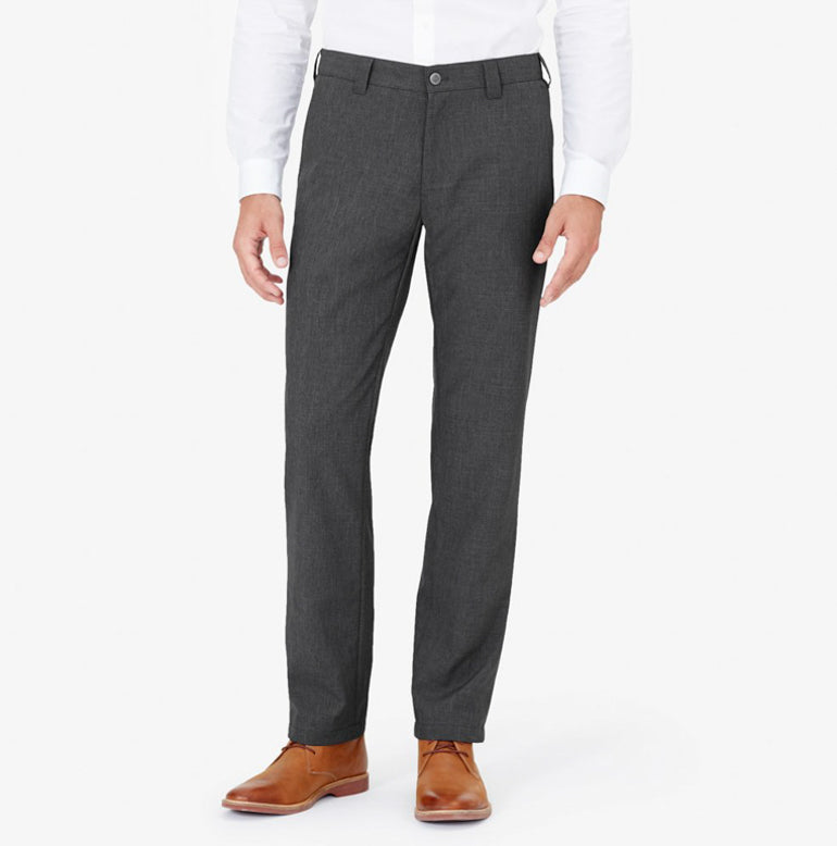 Bluffworks Original Mens Suit Pants in Charcoal