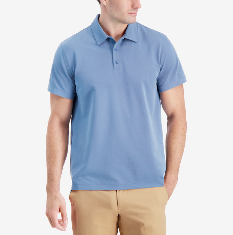 Piton Polo Shirt Classic Fit - French Blue