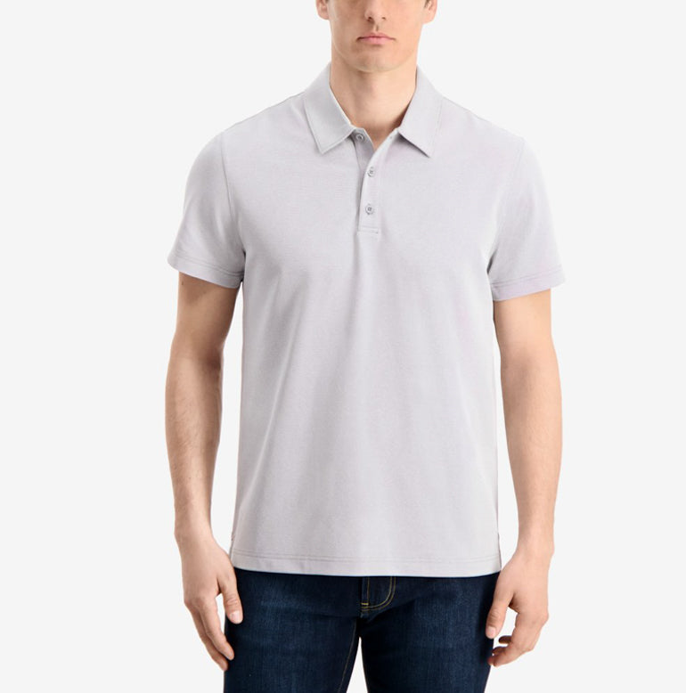 Piton Polo Shirt Classic Fit - Spun Grey