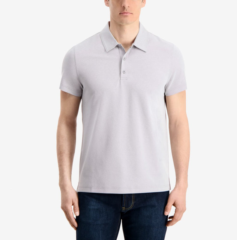 Piton Polo Shirt Slim Fit - Spun Grey