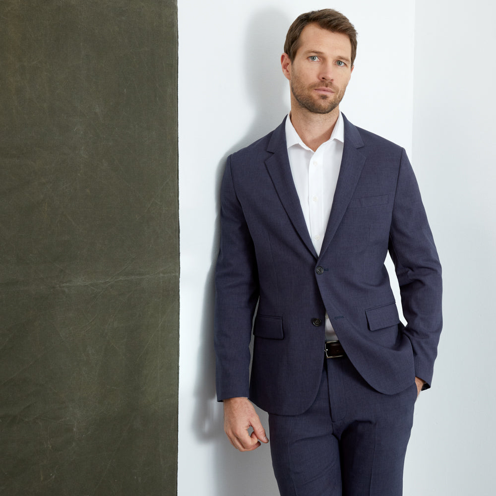 Presidio Blazer Classic Fit - Blue Smoke