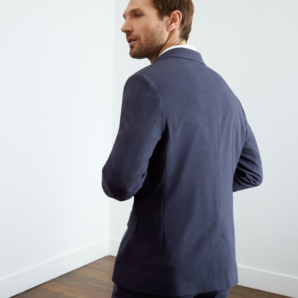 Presidio Blazer Slim Fit - Blue Smoke