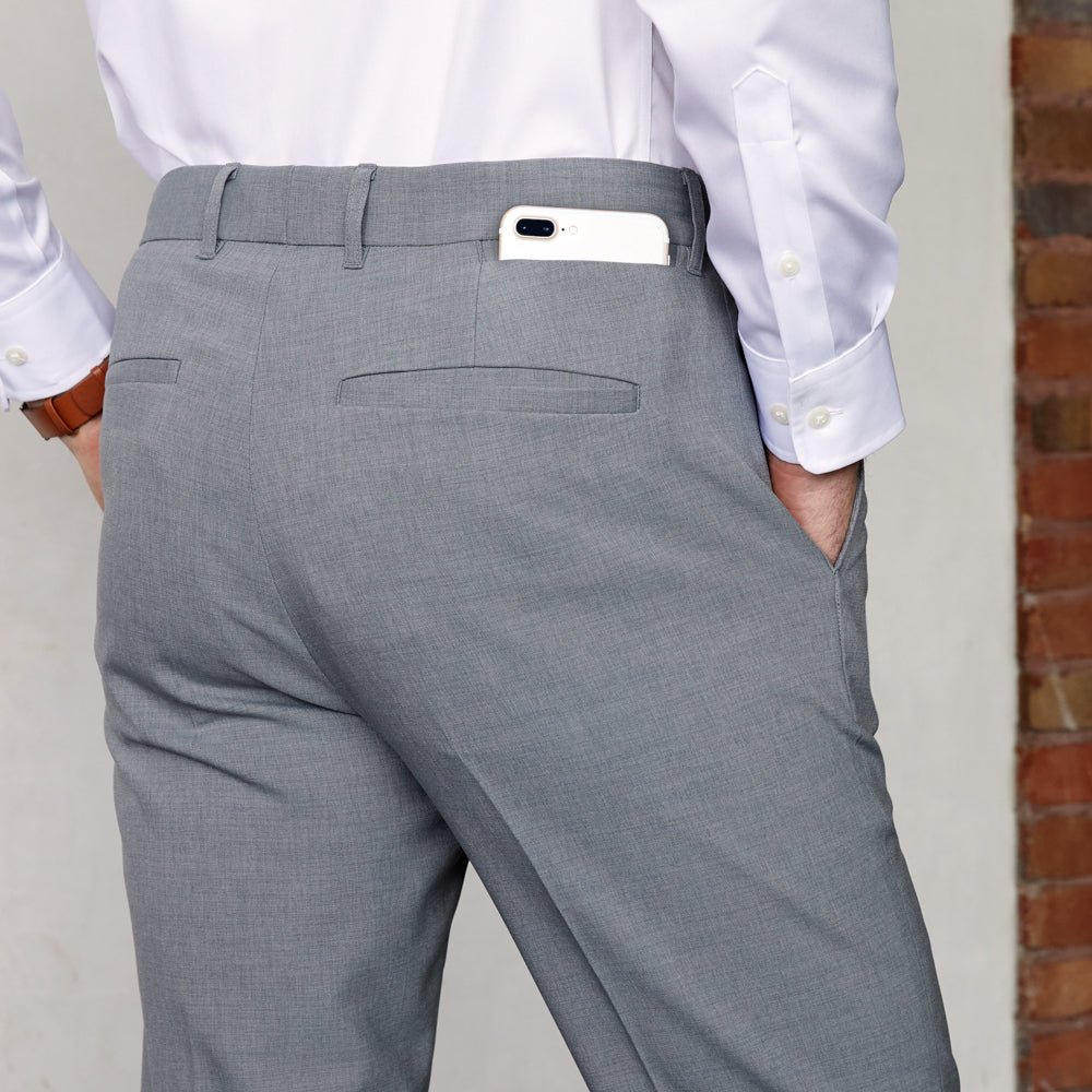 Presidio Dress Pants Regular Fit - Ash Grey