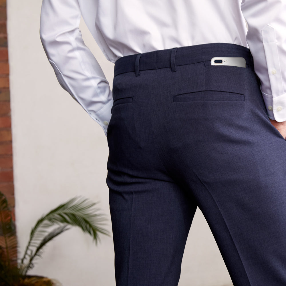 Presidio Dress Pants Regular Fit - Blue Smoke