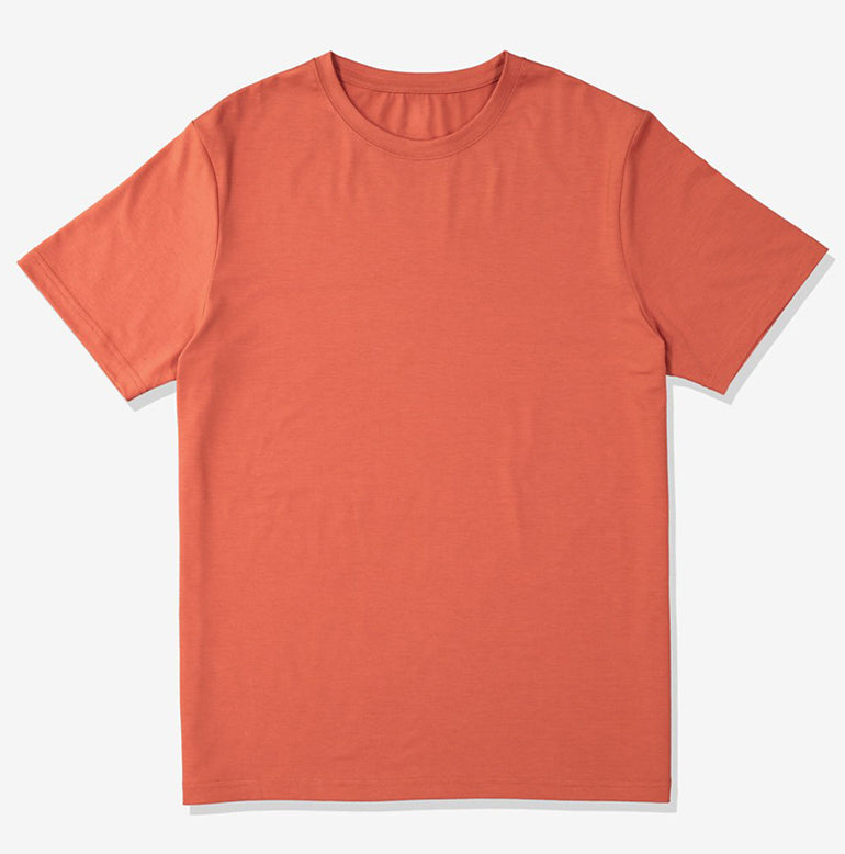 Threshold Performance T-Shirt Slim Fit - Deep Orange