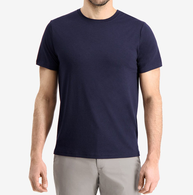 Threshold Performance T-Shirt Slim Fit - Maritime Blue