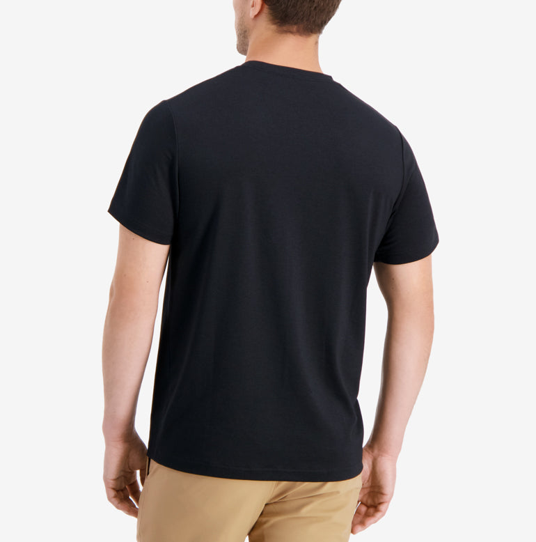 Threshold Crew Neck T-Shirt Slim Fit - Onyx Black