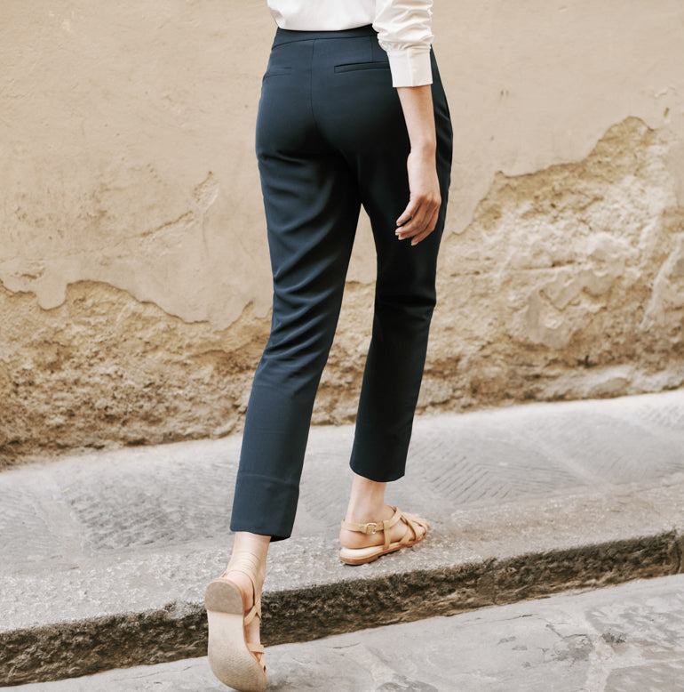 Trevi Ankle Pant Petite Fit - Evening Navy