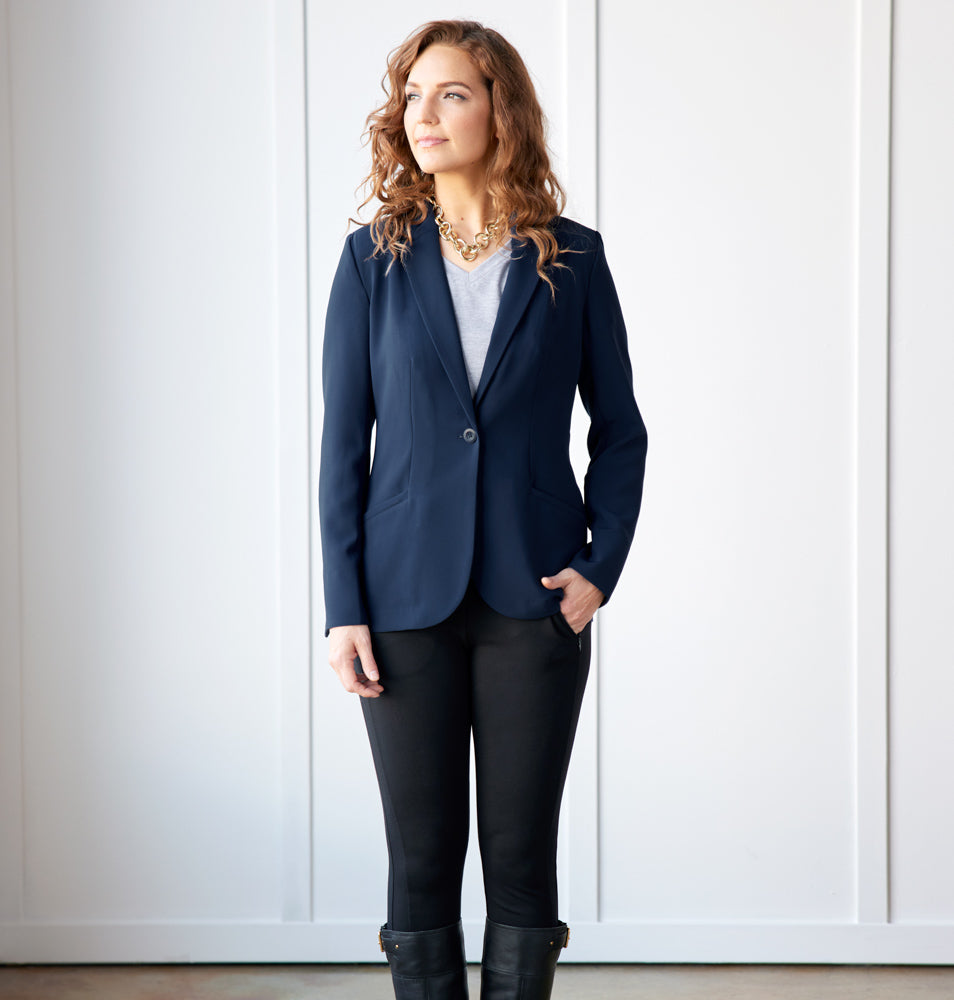 Trevi Blazer Standard Fit - Evening Navy