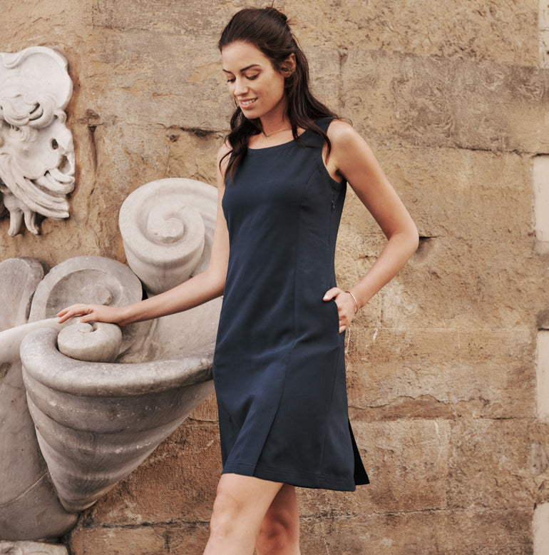 Trevi Dress Standard Fit - Evening Navy
