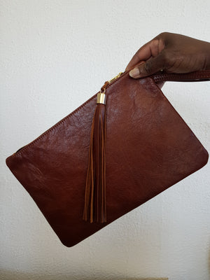 3.5 Hour Leather Clutch Bag Taster Course £60