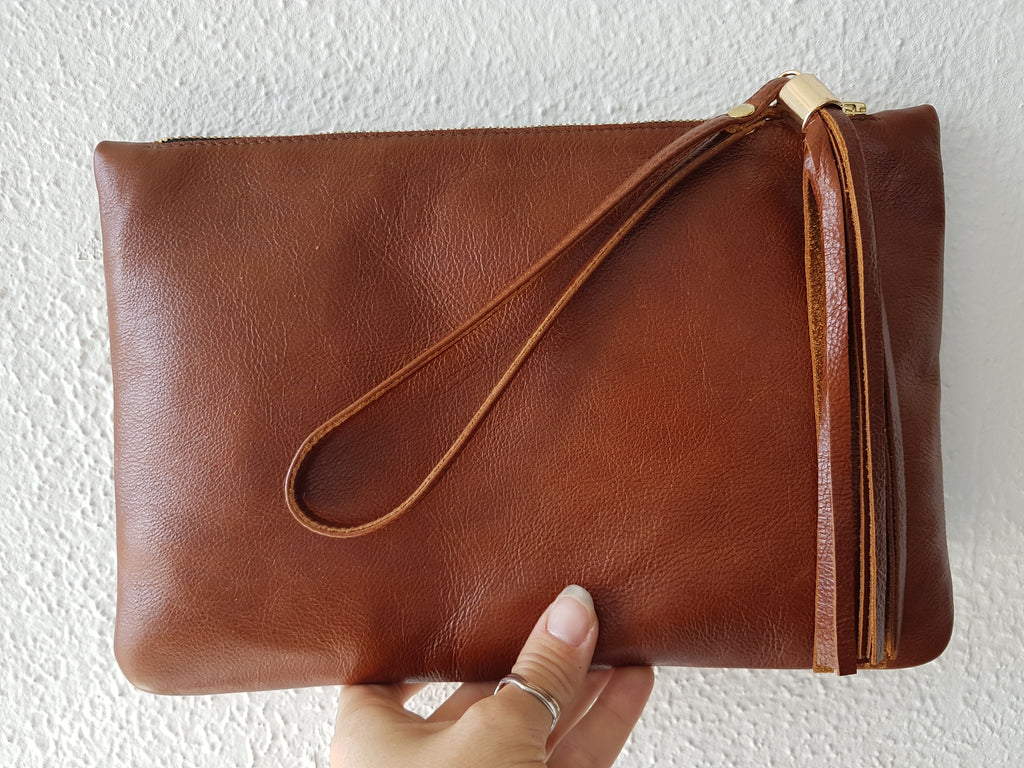 3.5 Hour Leather Clutch Bag Taster Course
