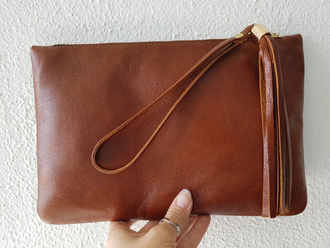 Clutch Bag Course - Leather and components materials package
