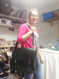 3 Day Leather Handbag Making - Satchel Bag
