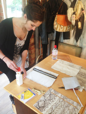 2 Day leather handbag making course