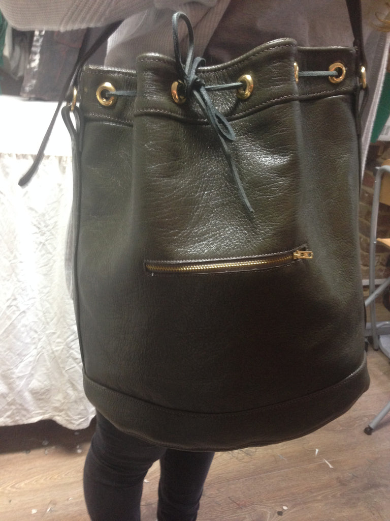 3 Day leather Handbag Making - Bucket bag
