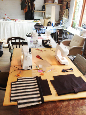 3.5 Hour Barbour Fabric Handbag Course