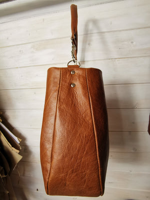 """The Louis "" Leather Hobo - Kit & Card Pattern - £164 on sale £99"