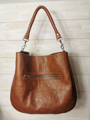 """The Louis "" Leather Hobo - Paper Pattern & Written Instructions - £20"