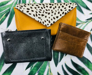 2.5 Hr taster course - 6 small leather goods products to choose from