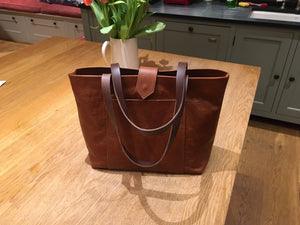 1 Day Leather T-Base Tote Making Course - £149