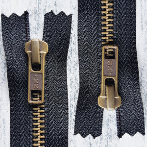RJ Leather Studio - YKK No.5 closed ended ZIP